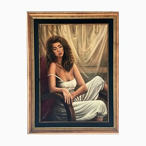 Max De Winter, Flavia, 1980s, Oil on Canvas
