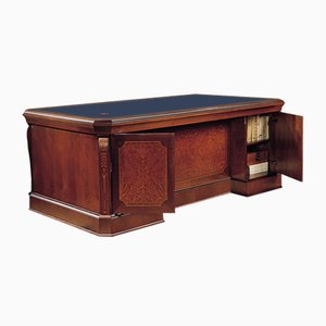 Executive Desk with Leather Top