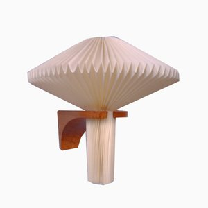 Mushroom Wall Sconce by Vilhelm Wohlert for Le Klint, Denmark
