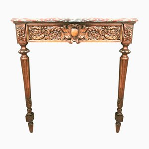 Louis XVI Console in Walnut