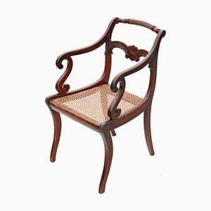 Regency Elbow, Carver oder Schreibtischstuhl, 1825