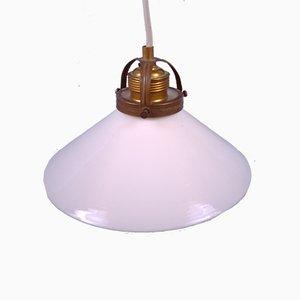 Lámpara colgante Coolie pequeña, mediados del siglo XX