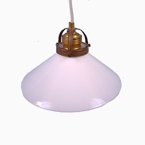 Small Coolie Pendant Lamp, Mid-20th Century