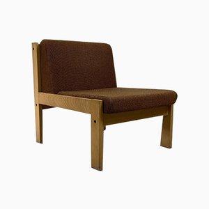 Baumann Wooden Chair, France, 1970s