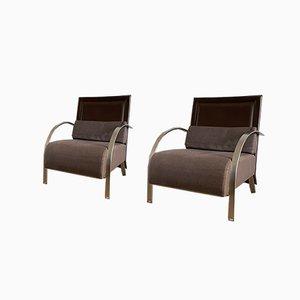 Armlehnstühle Modell Lhasa von Dario Gagliardini to Joke, 2er Set