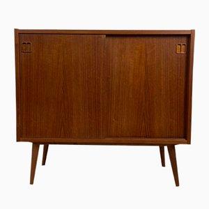 Skandinavisches Vintage Teak Buffet von NP Nielsen für Sejling Skabe, 1960er