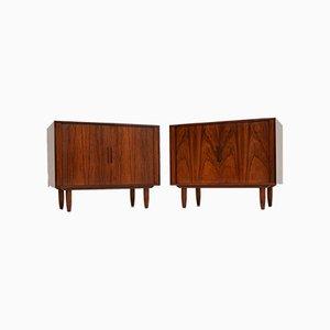 Vintage Danish Cabinets by Kai Kristiansen, Set of 2