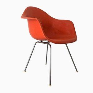 Dax Armchair in Orange Fiberlite by Charles & Ray Eames for Herman Miller