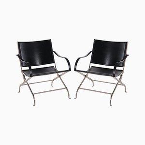Schwarze Carlotta Stühle von Antonio Citterio, 1990er, 2er Set
