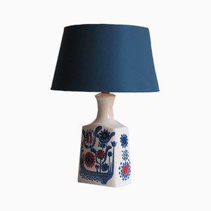 Lámpara de mesa de cerámica de Alboth & Kaiser, Germany, años 60