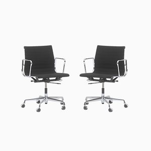 Office Armchairs Model EA 117 by Charles & Ray Eames for Vitra, Set of 2