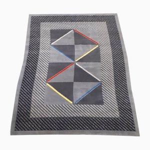 Mid-Century Modern Teppich mit Rautenmuster, 1980er