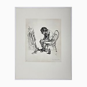 Andreas Paul Weber, C'est la vie, 1980, Lithographie sur Papier Signée à la Main