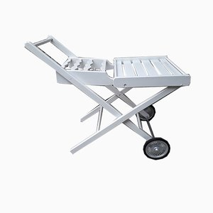 Serving Trolley with Castors, 1980s