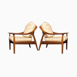 Mid-Century Lounge Armchairs in Teak from Greaves & Thomas, Set of 2