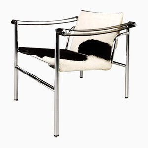 LC1 Stuhl von Le Corbusier für Cassina, 1970er
