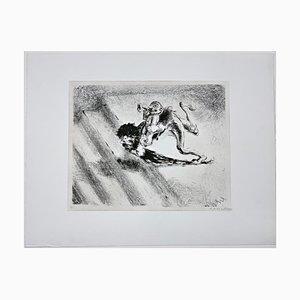 Andreas Paul Weber, Avant-Garde, 1978, Litografía sobre papel firmada a mano
