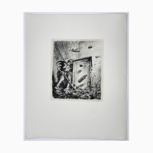Andreas Paul Weber, Sie haben mich nie geliebt, 1977, Hand-Signed Lithograph on Paper