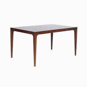 Tavolo da pranzo in palissandro di Poul Hundevad & Kai Winding per Hundevad & Co., Danimarca, anni '50