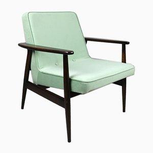 Light Green GFM63 Lounge Chair by J. Kedziorek, 1970s