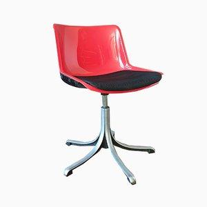 Chaise de Bureau par Osvaldo Borsani pour Tecno, Italie