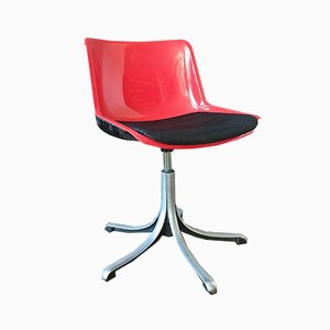 Italian Office Chair by Osvaldo Borsani for Tecno