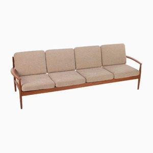 Vier-Sitzer Sofa von Grete Jalk für France & Son, Denmark, 1960er