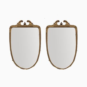 Large Mirrors by Giovanni Garibaldi, Cantù, Italy, 1950s, Set of 2