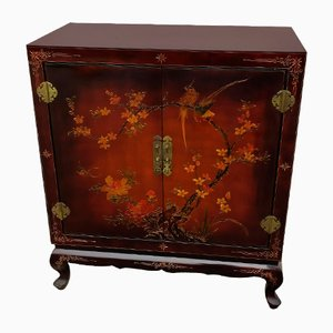 East Asian Lacquered 2-Door Cabinet or Buffet