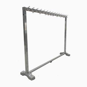 Standing Aluminum Coat Rack with 26 Hooks