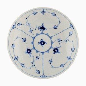 Bol Bleu Cannelé Numéro 312 de Bing & Grøndahl, milieu du 20ème siècle
