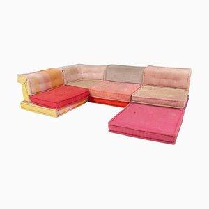 Mah Jong Sectional Sofa in Missoni Fabric by Hans Hopfer for Roche Bobois, Set of 13