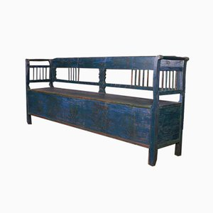 Painted European Bench