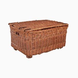20th Century Wicker Log Basket