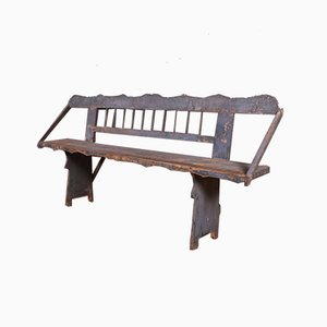 Painted Austrian Bench