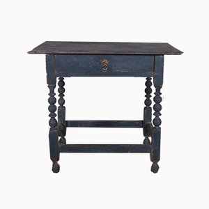18th Century Painted Lamp Table