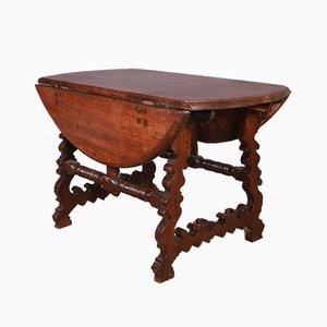 18th Century Italian Drop Leaf Table
