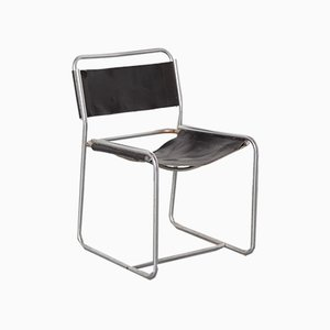 Black SE18 Chair by Claire Bataille + Paul Ibens for 't Spectrum