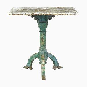Mesa auxiliar de hierro fundido, siglo XIX