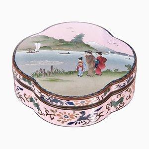 Japanische Cloisonné Box