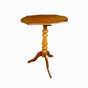Antique Oak Side Table, 1900s
