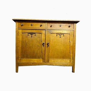 Art Deco Oak Dresser, 1930s