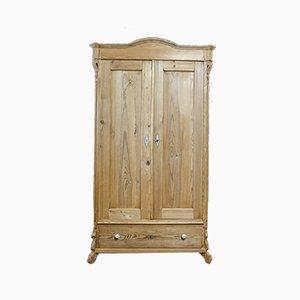 Brocante Aimed Pine 2-Door Cabinet, Early 1900s