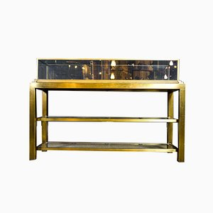 Vintage Brass Counter Showcase from Hilfiger Store