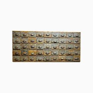 Industrieller Schubladenschrank, Frankreich, 1920er