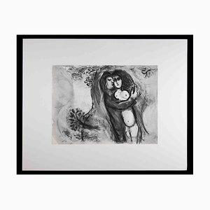 Marc Chagall, Sichem enlève Dinas, 1960s, Héliogravure Originale