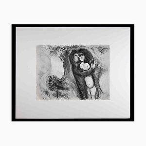 Marc Chagall, Sichem enlève Dinas, años 60, Héliogravure original