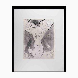 Marc Chagall, Salmo, años 60, Héliogravure original