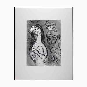 Marc Chagall, Cantique des Cantiques, 1960, Original Heliogravüre