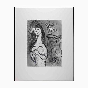Marc Chagall, Cantique des Cantiques, 1960, Original Héliogravure